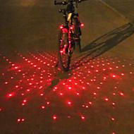 Eclairage de Vélo / bicyclette Lampe Avant de Vélo Lampe Arrière de Vélo Eclairage guidon vélo LED Laser CyclismeAlarme multi-alat