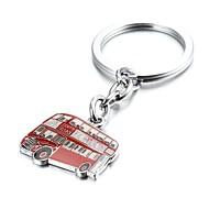 angleterre rouge porte-clés londres alliage bus de zinc (10 premiers clients avec boîte ajoutées)