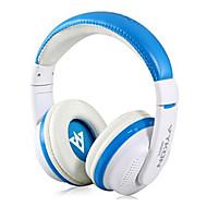 VYKON MQ55 3.5mm Plug On-ear hörlurar med mikrofon och 1,2 m kabel (blandade färger)