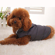 PethingTM-Dog Hoodies/Coats-XS/S/M/L/XL-Winter-Gray-Casual-Cotton