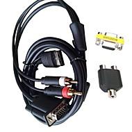 dc vídeo vga adaptador rca hd cable japón nos NTSC PAL para la consola Sega Dreamcast