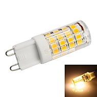 G9 3.5 W 51 SMD 2835 350lm LM Warm White Corn Bulbs AC 220-240 V