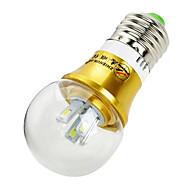 ZHISHUNJIA E26/E27 4 W 8 SMD 5630 360 LM Blue/Cool White Decorative Globe Bulbs AC 85-265 V