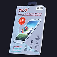 milo blue ray anti bijziendheid gehard glas 0,33 mm 2.5d screen protector voor samsung s4 i9500