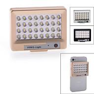 eoscn s60 5600K Universal ledde video ljus ledde fylla ljus för mobiltelefon och digitalkamera