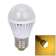 E26/E27 W 33 SMD 2835 280~300 LM Warm White Sound-Activated Globe Bulbs V