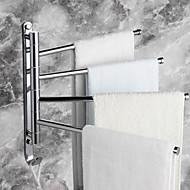 "Havlu Çubuğu Krom Duvar Montajlı 328 x 300mm (12.9 x 11.8"") Pirinç Çağdaş"