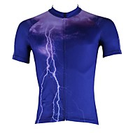 PALADIN® Cycling Jersey Men's Short Sleeve Bike Breathable / Quick Dry / Ultraviolet Resistant Jersey / Tops 100% PolyesterNature &