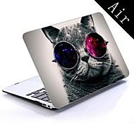 kul katt utforming full-body beskyttende plasteske for 11-tommers / 13-tommers nye MacBook Air