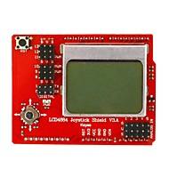 키이스 LCD 4884 로커 확장 보드 - 블랙 + 레드