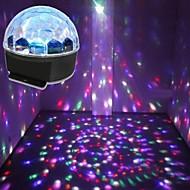 lt-85364 fjärrkontroll sex färger ledde kristall Magic Ball laserprojektor (240v.1x laser projektor)