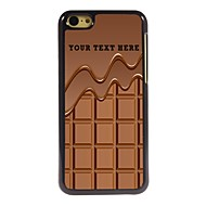 Personalized Phone Case - Chocolate Design Metal Case for iPhone 5C