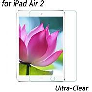 profesional de cristal LCD de alta transparencia protector de pantalla ultra claro para ipad aire 2