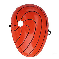 Masker geinspireerd door Naruto Madara Uchiha Anime Cosplay Accessoires Masker Rood PVC Mannelijk