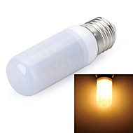 Marsing®  E27 Frosted Cover Cross 8W 800lm 3500K 48 x SMD 5730 LED Warm White Light Bulb Lamp (AC 220V)