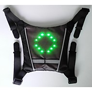 BIKEMAN™ Remote Control LED light-up Warning Bicycle backpack mini pendant