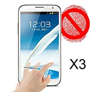 matte screen protector voor de samsung galaxy note 2 n7100 (3pcs)
