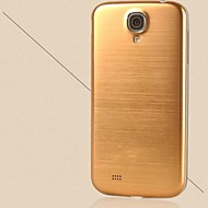 szczotkowane aluminium metal zastępcza tylna pokrywa obudowy komory baterii dla dla Samsung Galaxy S4 i9500