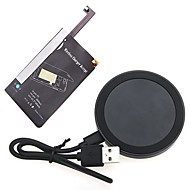 Qi Standard Transmitter + Receiver Wireless Charger Kit for Samsung Galaxy Note4 N9100