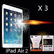 último protector de pantalla de la absorción de choque para ipad aire 2 (3pcs)
