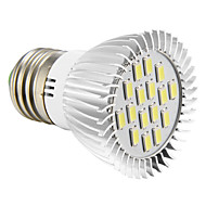 E26/E27 4W 16 SMD 5730 280 LM Cool White LED Spotlight AC 220-240 V