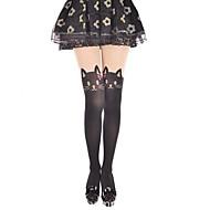 Sukat ja sukkahousut Söpö Lolita Cosplay Lolita-mekot Painettu Eläinkuviointi Sukat varten