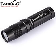 Tank007® E19  3-Mode 1xCree XPG- R5 LED Outdoor Mini  Flashlight (180LM, 1x14500/1xAA,Black)