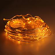 waterdichte 10w 100x0603smd zacht koperen lamp gele lichten (dc 12v / 1000cm)