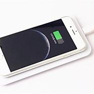 qi pad chargeur sans fil + adaptateur récepteur sans fil + TPU étui souple clairement défini pour iphone 6 4,7 pouces