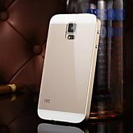 dwa w jednym kx lustro metalu marką Rama akrylowa płytka montażowa metalowa twarde etui do Samsung Galaxy S5