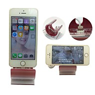 Sync Charging Stand Dock Cradle with USB Cable for iPhone 5/5S/6 Plus (Red)