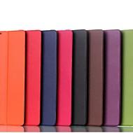 la manera del color sólido de la PU cuero caso de cuerpo completo para el lenovo A7600 a1-70 (colores surtidos)