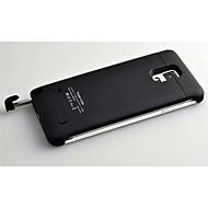 4500mAh ekstern bærbar backup batteri etui til Samsung Galaxy Note 4 (assorterede farver)
