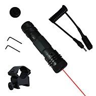 lt-g23 pointeur laser rouge (2MW, 650nm, 1x16340, noir)