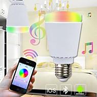 Ampoules Globe Gradable/Commandée à Distance/Capteur/Décorative Couleurs Changeantes H+LUX™ A E26/E27 9 W 48 SMD 5630 800 LM 3000~6000 K