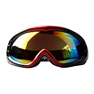 OBAOLAI Black Frame Multi Color Sensor Mirror Lens Anti-UV Anti-Wear Snow Googgles