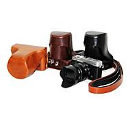 한국 후지 필름 X-E1의 X-E2를위한 PU 가죽 카메라 가방
