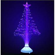 3w e27 fibra azul flor luz óptica llevó la luz del escenario navidad belleza del árbol de la lámpara (85-260v)