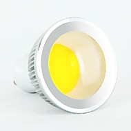 5W GU10 LED Spotlight MR16 1 COB 350-400 lm Cool White AC 85-265 V