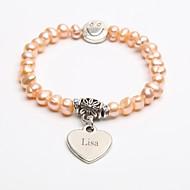 spersonalizowany prezent bransoletka hodowane perły