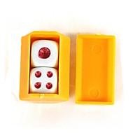 magiczne rekwizyty słuchać kostki - żółty