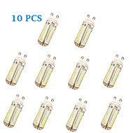 G9 5 W 104 SMD 3014 600 LM Warm White / Cool White T Corn Bulbs AC 220-240 V