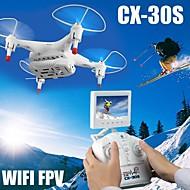 cheerson cx-30s elicottero drone con fotocamera HD e FPV drone trasmissione in tempo reale ha condotto la luce