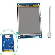 """3.2 """"TFT LCD module d'affichage tactile de bouclier avec stylet pour Arduino"""