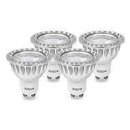 IENON® Lâmpadas de Foco de LED GU10 5 W 400-450 LM 3000 K Branco Quente COB 4 pçs AC 100-240 V MR16