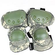 militaire style camouflage garde rotule / du coude ensemble - camouflage