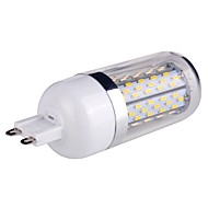G9 7 W 120 SMD 3014 840 LM Warm White Dimmable Corn Bulbs AC 85-265 V