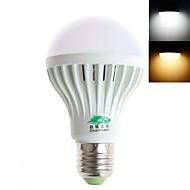 Zweihnder E26/E27 6 W 12 SMD 5730 420 LM Warm White / Cool White A70 Decorative Globe Bulbs AC 220-240 V