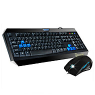 SW ST-850 PS/2 Keyboard + USB Mouse Gaming Keyboard Mouse Kit 1600DPI