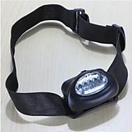 LS126 Camping Hiking Waterproof Gasket 5 LED Headlamp Lamp Torch Black